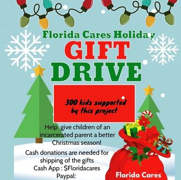 Charity holiday gift drive