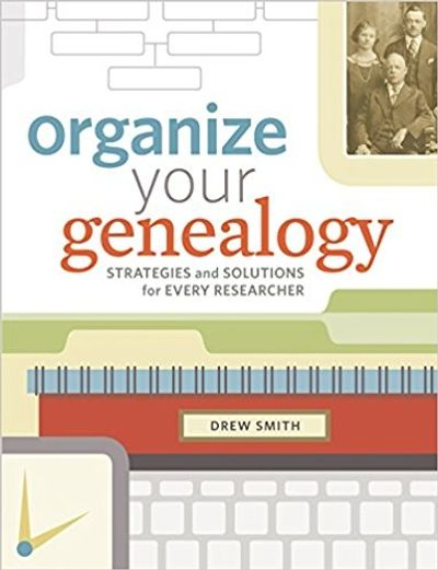 Organize your Genealogy Cover