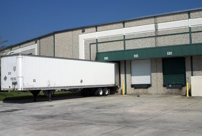 Trailer pick up and storage services available for large quantity pallet management.