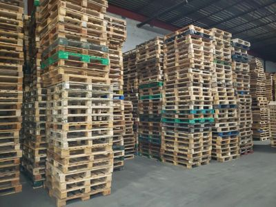 Pallets are available for weekly and daily orders.