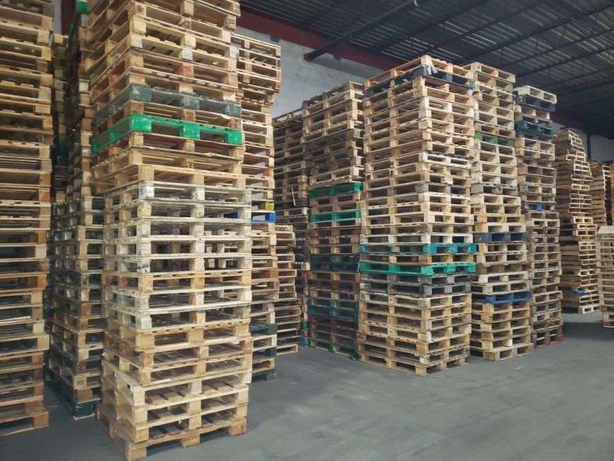 Pallets available for high quantity orders
