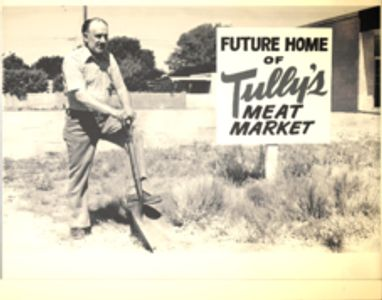 Tully's Market breaking ground