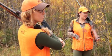 Women's Hunting Association with programs available including Range Days, hunting clinics.