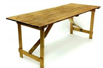 Rustic trestle table hire in Lincolnshire. Vintage wedding event furniture hire Lincoln Marquees.