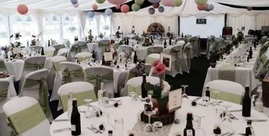 Wedding Marquee and event furniture for hire in Lincolnshire