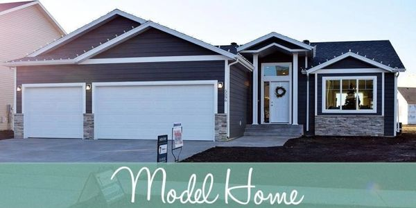 New consruction affordable custom home model in Grand Forks, ND