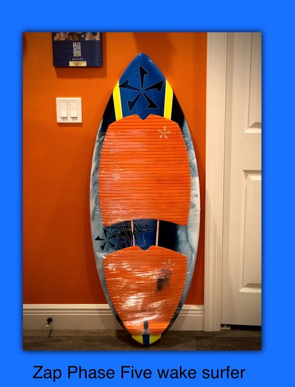 ZAP Phase Five wakesurf board