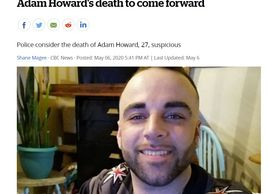 Mother calls for anyone with information about Adam Howard's death to come forward