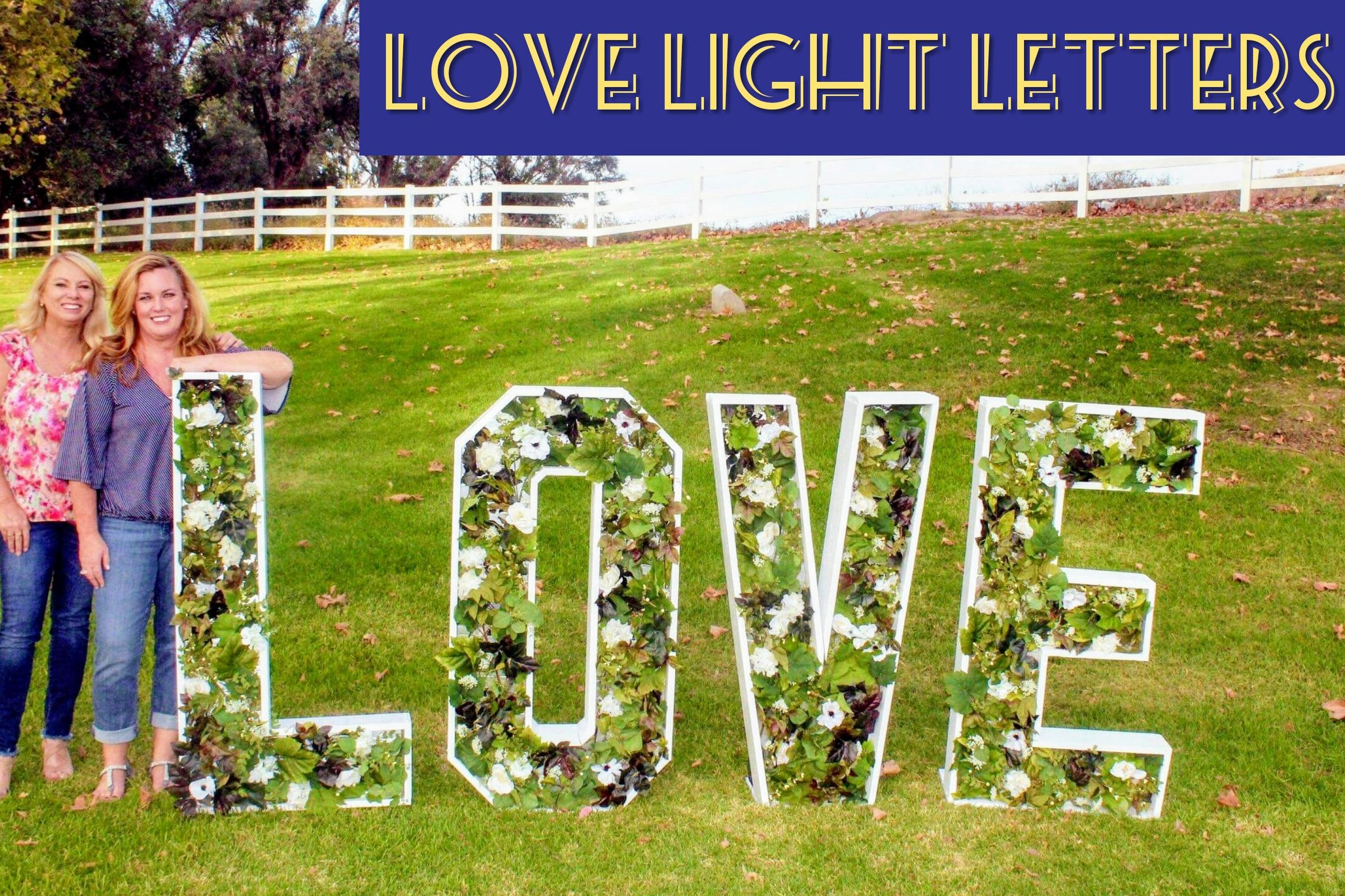 Large Lighted Marquee Rental Letters, San Diego, California