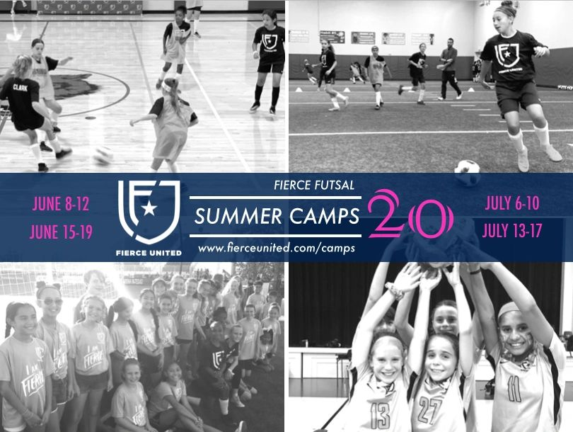 Register today for our indoor summer soccer and futsal camps