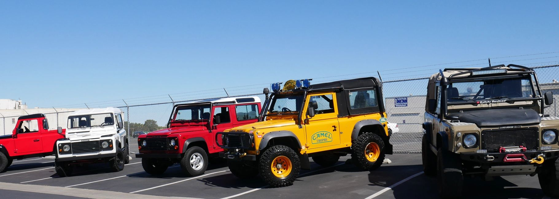 Imported Diesel land rover defenders in San Diego