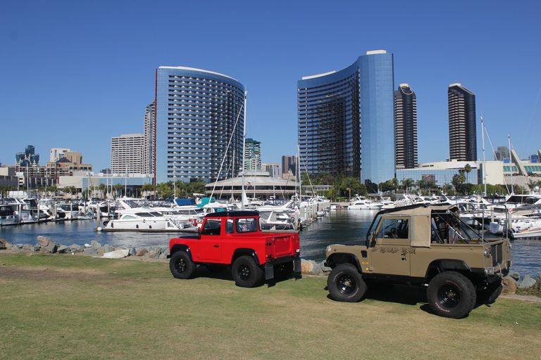 CARB Certified Land Rover Defenders for Sale in San Diego California. www.DefenderTraders.com