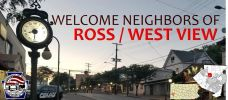 Neighbors of Ross / West View Facebook page