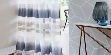 Designer Sheers Momentum 3 Sheer Curtains - The Ivory Tower - fabric and wallpaper