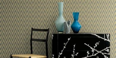 Textile Effects Wallpaper sold by  The Ivory Tower - fabric and wallpaper