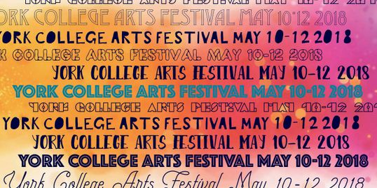 First Annual Arts Festival Poster