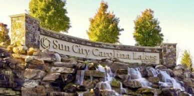 Sun City Carolina Lakes one of the first retirement communities. Located minutes from Ballantyne.