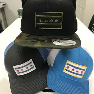 Chicago Flag hat cap