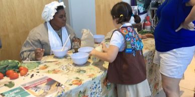 Mammy's at  Southeast Girl  Scout program