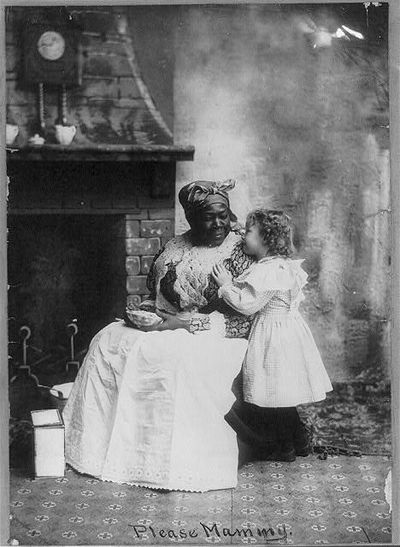 Please Mammy.  ca. 1899. Photograph. Library of Congress.