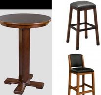 Heritage 3 Piece wood Pub Set
