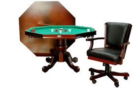 Berner Billiards poker game table