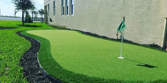 Putting Green, Florida Villa Entertainment Services