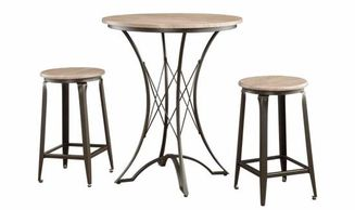 Coaster Pub Table and Stool Set