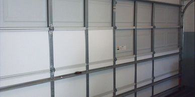 Garage Conversion, insulate garage door