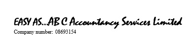 Easy As...ABC Accountancy Services Ltd
