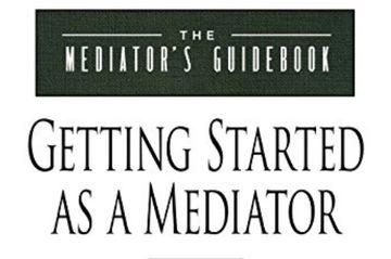 Mediation has been in the top 50 new and emerging careers in the US since 2012. More judges across