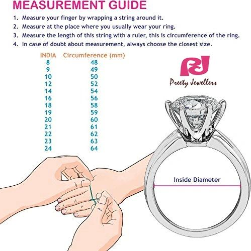 Ring Size Chart Know Your Ring Size