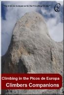 Rock climbing in the Picos de Europa