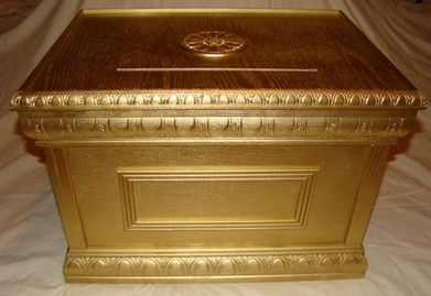 Ark of the Covenant Prayer Donation Box