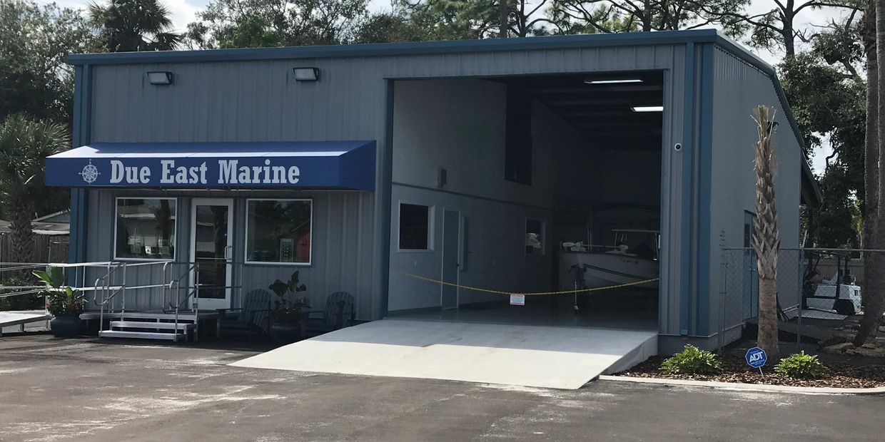Our Brand new, state of the art facility is centrally  located between 2 New Smyrna Boat ramps.
