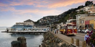 sausalito tour. san francisco sightseeing tours. san francisco hop on hop off