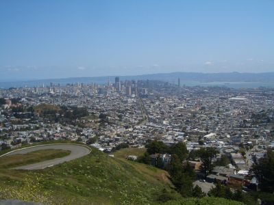 San Francisco Twin Peaks - One of the stops of the Grand City Tour