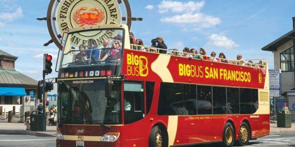 Hop On Hop Off Big Bus Tour