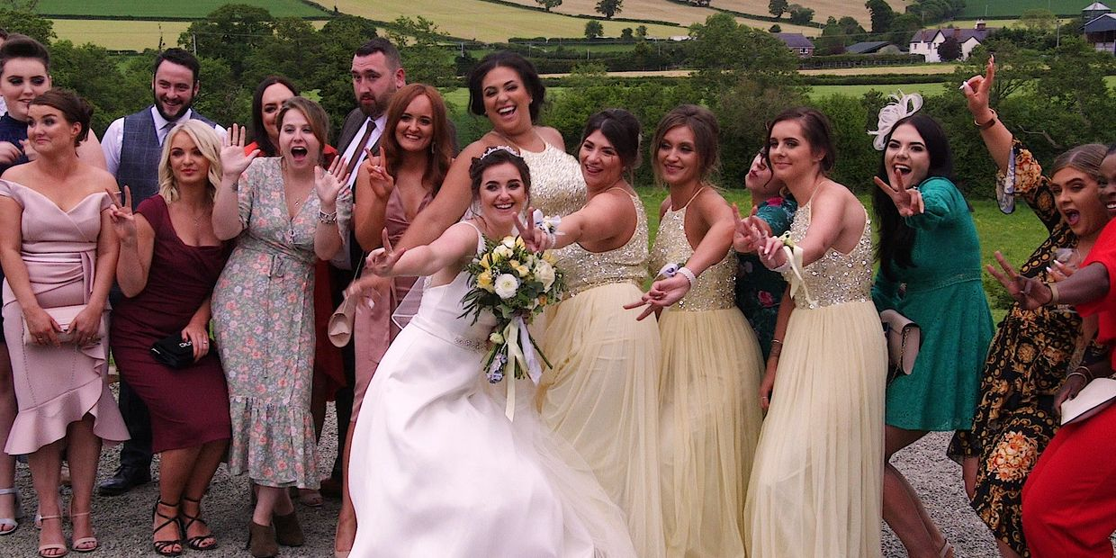 Creative wedding videography at it's very best, across the Midlands, Buckinghamshire