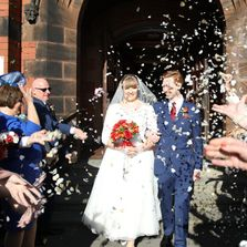 Creative wedding videography based in Shropshire, filming inobtrusive  award winning ,wedding films