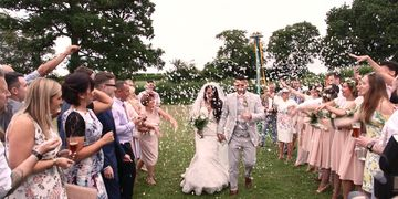 Staffordshire and Shropshire's premium wedding videography service, filming across the Midlands.