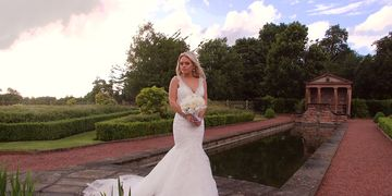 Creative wedding videography based in Shropshire, filming creative award winning wedding films