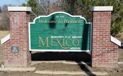 Mexico Missouri Welcome Sign