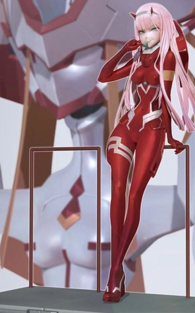 Code 002 (Zero Two) Darling in the Franxx