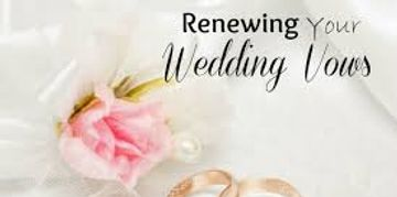 Endless possibilities of wedding vows or create your own