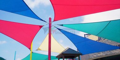 Shade sails for schools in Cyprus