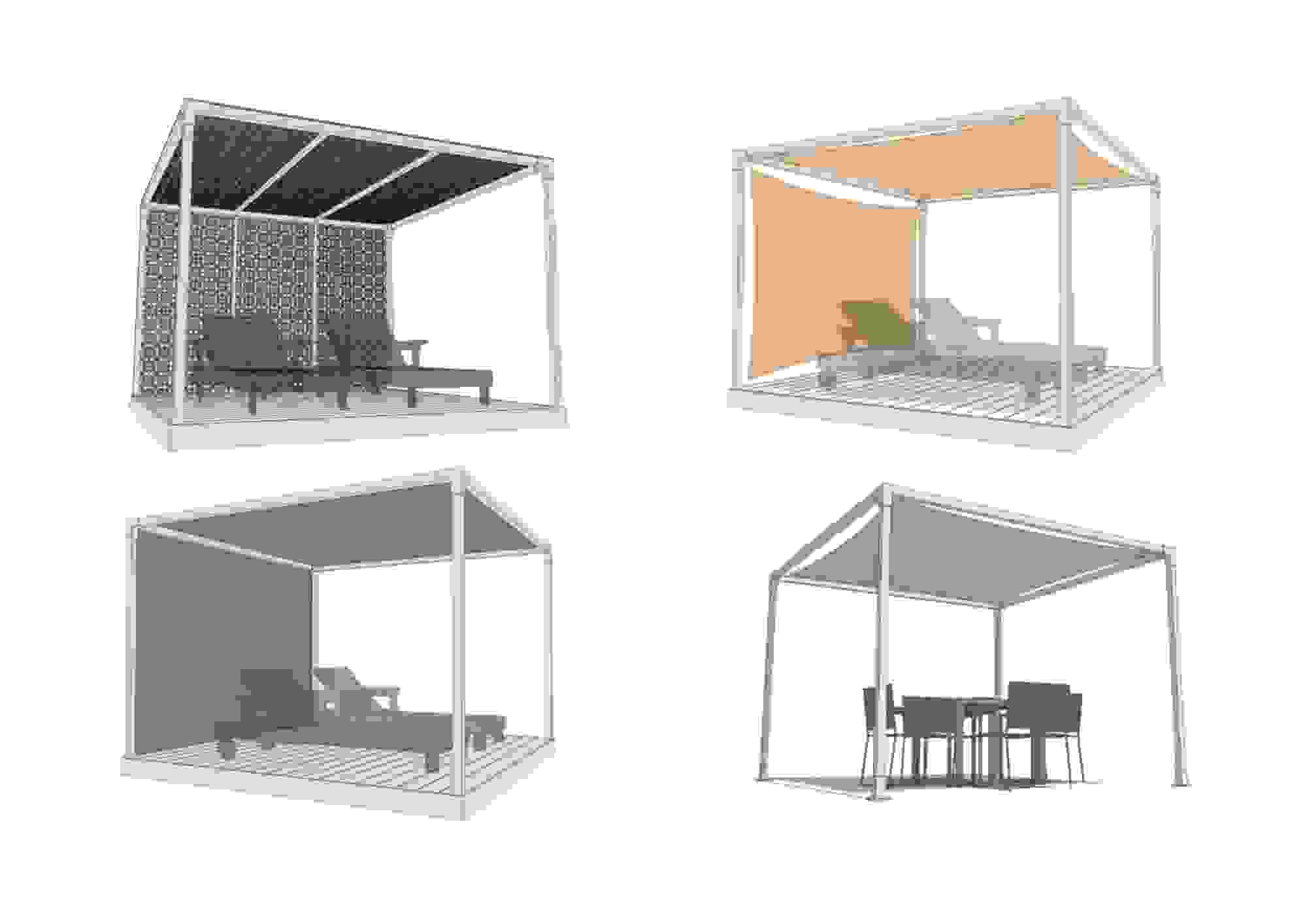 Summer Cabana range designed to provide shade and offers an element of unique beauty by Shadeports