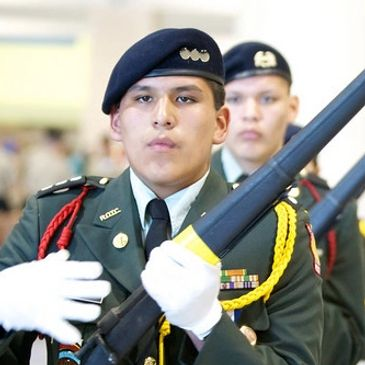 Flandreau Indian School ROTC