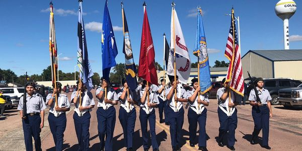 Indian Education JROTC Lineup