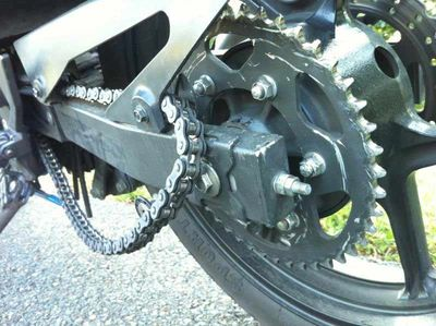 To learn more about Chain Wear and why Traditional Lubricants are a bad choice click on the picture